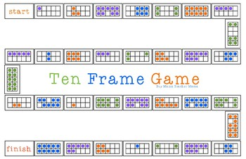 Ten  Frame Game (1-10)