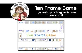 Ten  Frame Game (1-5)