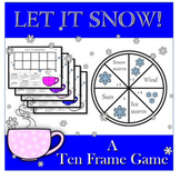 Ten Frame Game Let It Snow