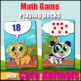 Ten Frame Game - Make 10 or Make 20 Math Card Game