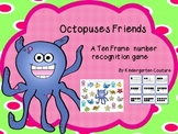 Ten Frame Game - Octopuses Friends