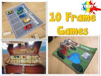 Ten Frame Games