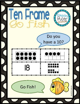 Ten Frame Go Fish