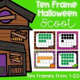 Ten Frame Halloween Scoot
