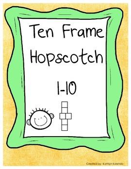Ten Frame Hopscotch