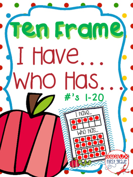 Ten Frame I Have..Who Has