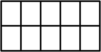 Ten Frame Index Cards