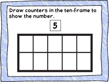 Ten Frame Introduction Center