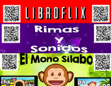 Spanish QR Codes - 465 Story Time, Read Aloud Books, Mono Silabo, Rimas...