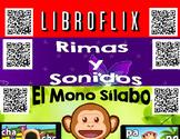 Spanish QR Codes - 465 Story Time, Read Aloud Books, Mono