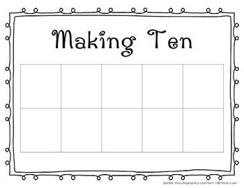 Ten Frame - Making Ten