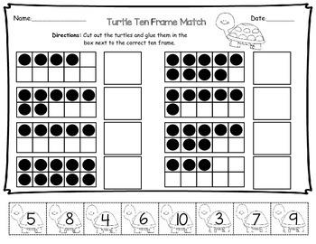 Ten Frame Match 1-10
