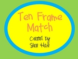 Ten Frame Match - Flash cards - Common Core Math
