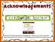 Ten Frame Match *Thanksgiving* {November} - Flash Cards - Common Core Math