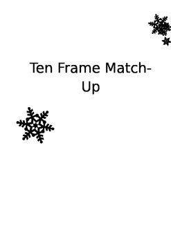 Ten Frame Match-Up