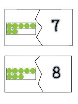 Ten Frame Match Ups