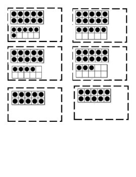 Ten Frame Matching Game
