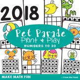 Ten Frame Matching Game - Pet Parade