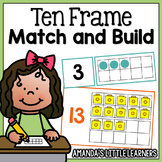 Ten Frame Matching and Building Cards
