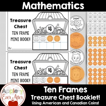 Ten Frame Math Centres - Mini Book - Response Sheets