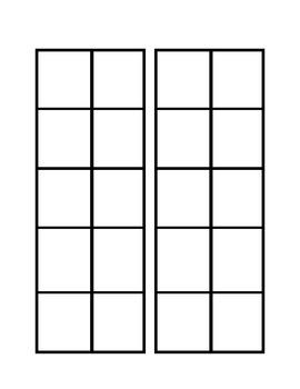 Ten Frame Math Craft
