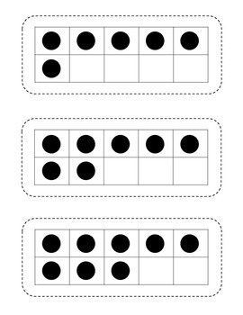 Ten Frame Math Flashcards