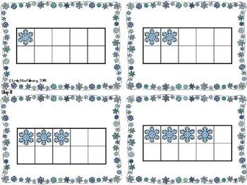 Ten Frame Math Games: Snow Much Fun (Winter Theme)