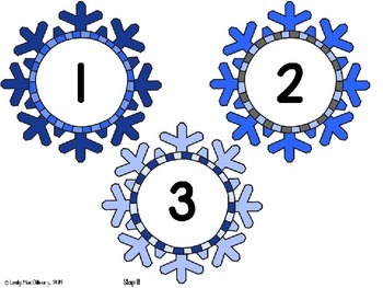 Ten Frame Math Games: Snow Much Fun (Winter Theme)