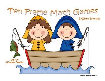 Ten Frame Math Games for the Primary Classroom