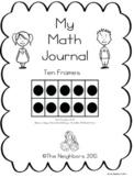 Ten Frame Math Journal