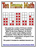 Ten Frame Math Packet