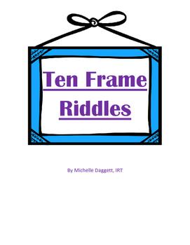 Ten Frame Math Riddles