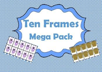 Ten Frame Maths Games
