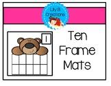 Ten Frame Mats - Assessment Tool