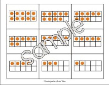Ten Frame Memory Game {Common Core}
