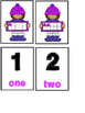 Ten Frame Memory Game (Hats) 1-10