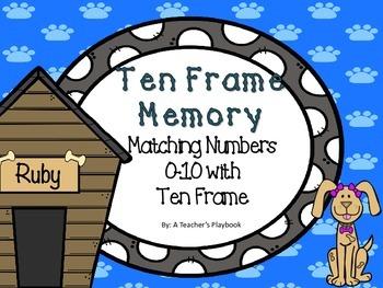 Ten Frame Memory Number 0-10