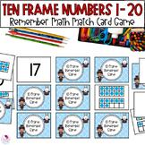 Ten Frame Memory Numbers 1-20