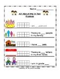 Ten Frame Mini Workbook
