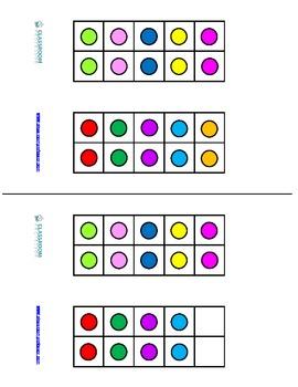 Ten Frame Multiplication Flash Cards to 20