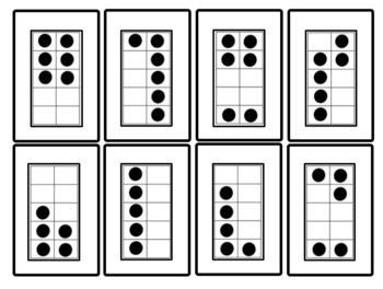 Ten-Frame Number Card Sets
