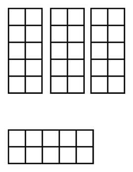 Ten Frame Number Cards 0-10