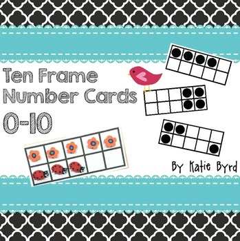 Ten Frame Dots Teaching Resources | Teachers Pay Teachers