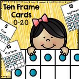 Ten-Frame Number Cards 0-20