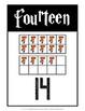 Ten Frame Number Cards 0-20 {Harry Potter Theme}