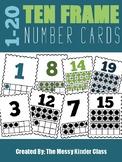 Ten Frame Number Cards (1-20)