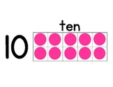 Ten Frame Number Line 0 to 20