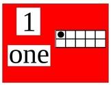 Ten Frame Number Line