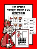 Ten Frame Number Match 1-20 Sinterklaas