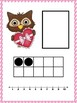 Ten Frame Number Match 1-20 Valentine Owls